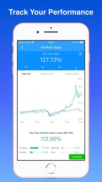 Stock Market Simulator Live screenshot-3