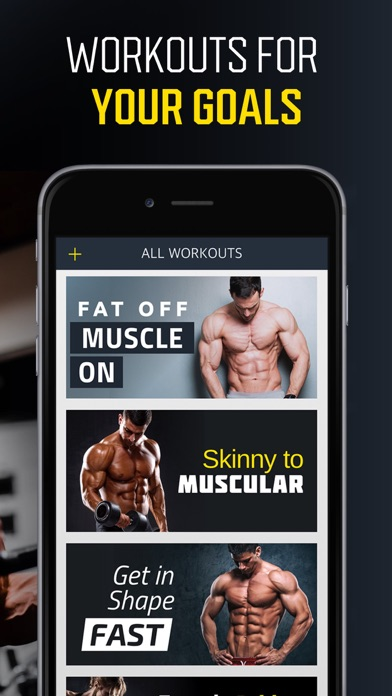 Workout: Gym workout planner Screenshot