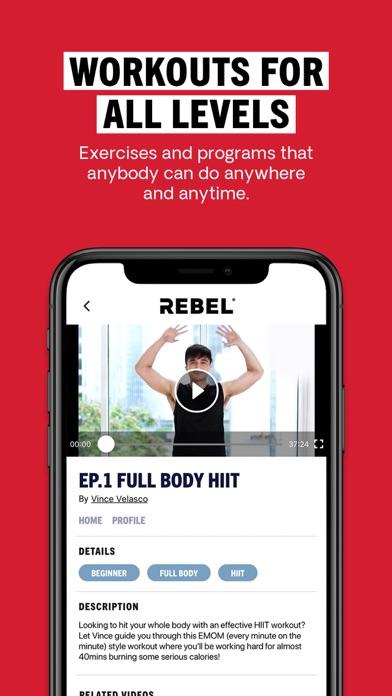 REBEL: fitness, food, wellnessのおすすめ画像3