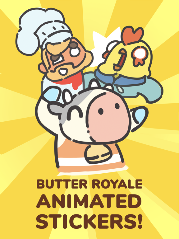 Butter Royale Stickers screenshot 4