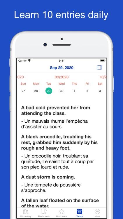 English French Sentences screenshot-9