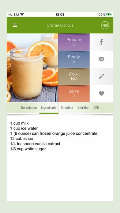 100+ Smoothies RecipesScreenshot of 2