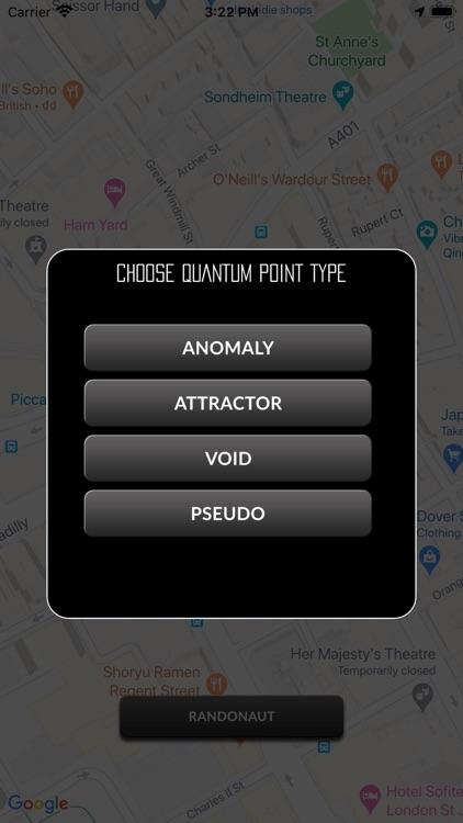 Randonaut Location Generator