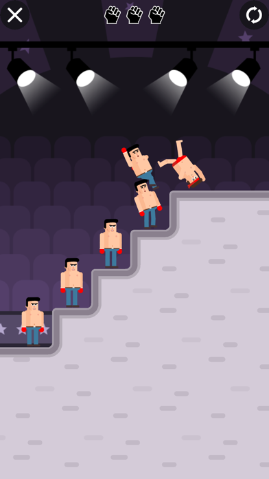 Mr Fight - Wrestling Puzzles screenshot 3