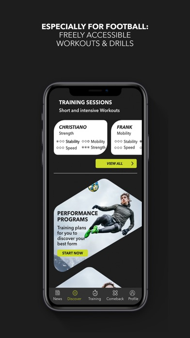 cancel Football Training - B42 app subscription image 1