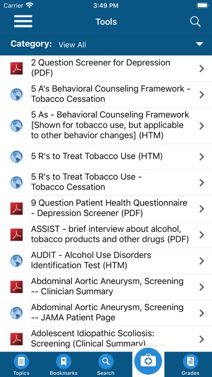 USPSTF Prevention TaskForce screenshot-5