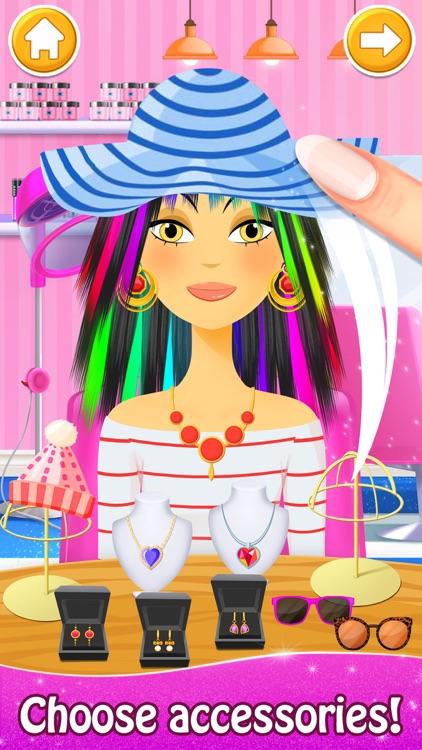 Hair Salon: Makeup Spa Games screenshot-4