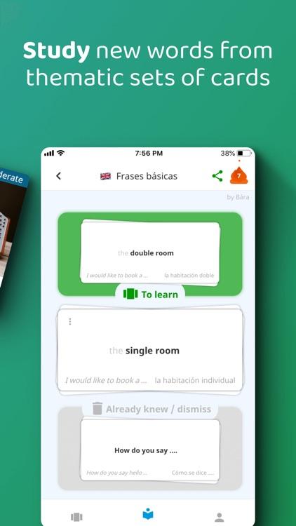 DuoCards – Language Flashcards screenshot-3