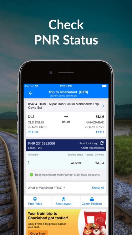 IRCTC Train Booking- RailYatri screenshot-4