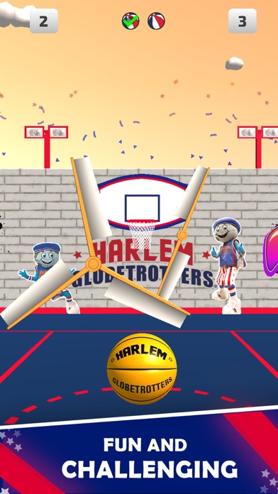 Harlem Globetrotter Basketball screenshot 2