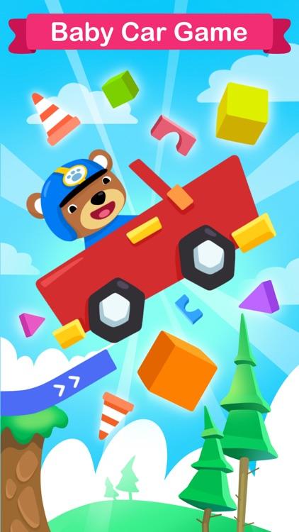 Baby Car Games screenshot-0
