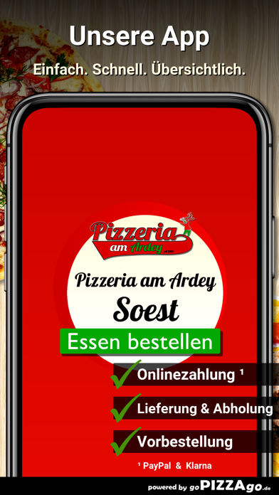 Pizzeria am Ardey Soest screenshot 1