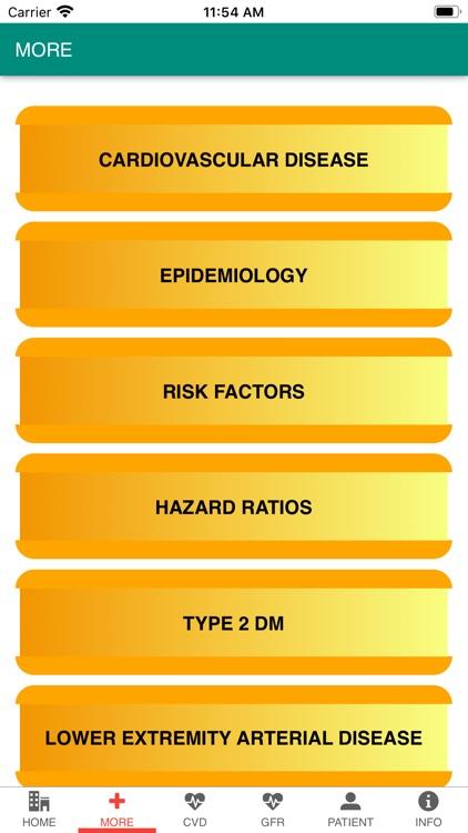 ASCVD risk & e-GFR Calculator