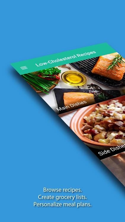 Low-Cholesterol Recipes & Eats