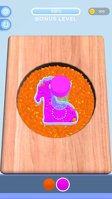 Sorting Beads: Stencil Fill screenshot 2