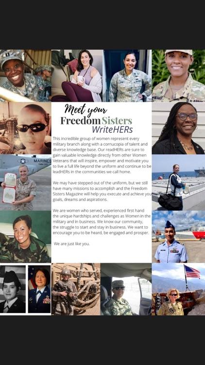 Freedom Sisters Magazine screenshot-3