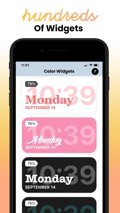 Color Widgets screenshot 4