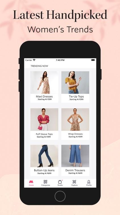 Myntra - Fashion Shopping App screenshot-3