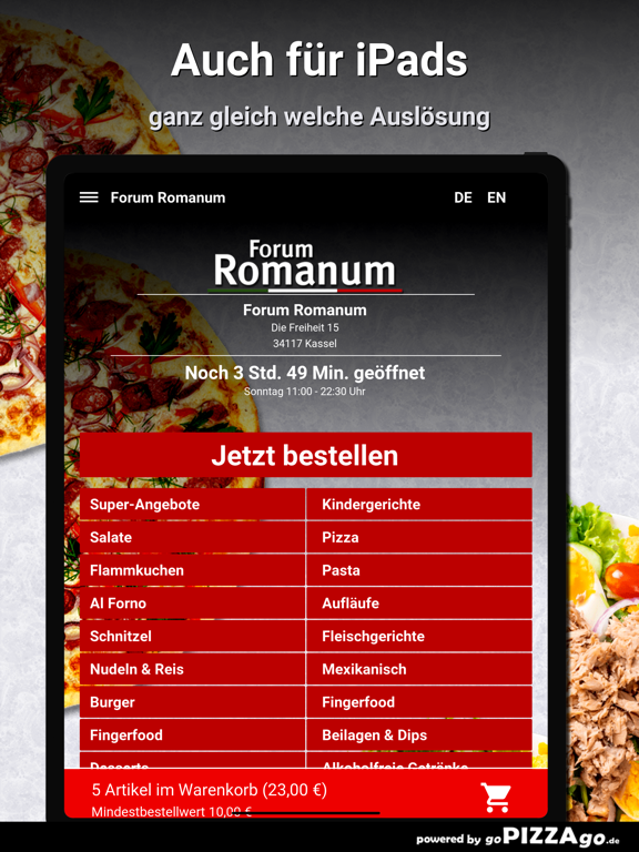 Forum Romanum Kassel Pizza screenshot 7