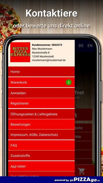 Bittus Pizza Express Leipzig screenshot 3