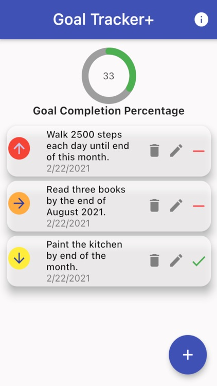 Goal Tracker+ screenshot-3