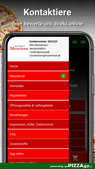 Mesurinna Hennef Lieferservice screenshot 4