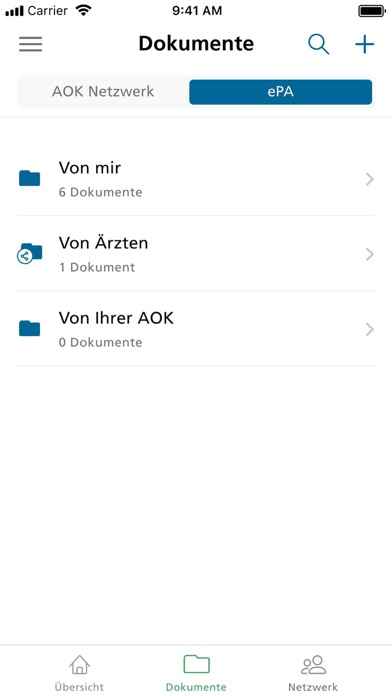 messages.download AOK Mein Leben software