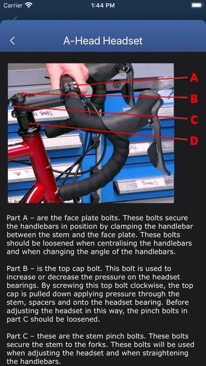 Bicycle Maintenance Guide screenshot-4
