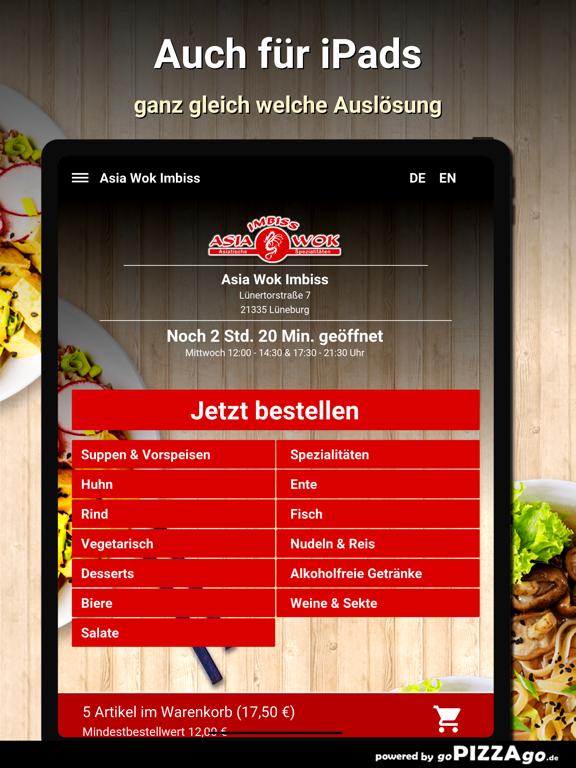 Asia Wok Imbiss Lüneburg screenshot 7
