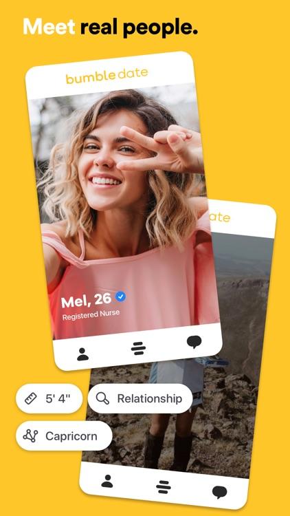 Bumble - Dating. Friends. Chat screenshot-0