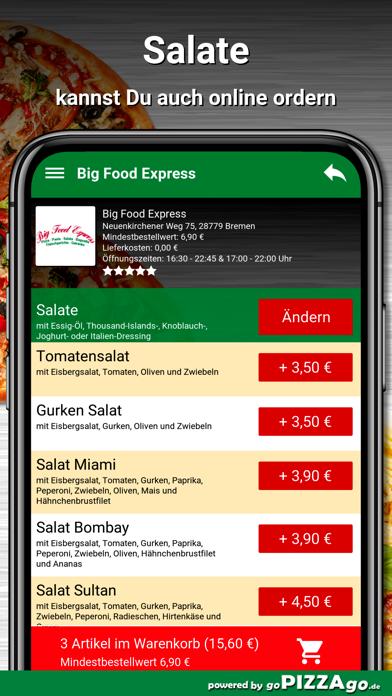 Big Food Express Bremen screenshot 5