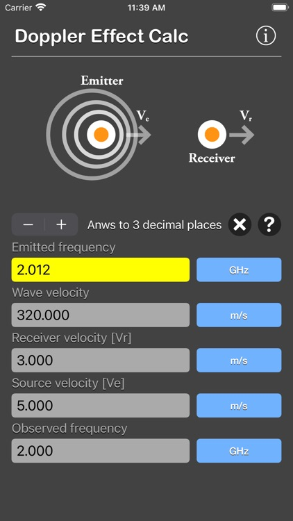 Doppler Effect Calculator screenshot-7