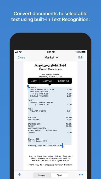 Paperlogix - PDF Scanner screenshot-4