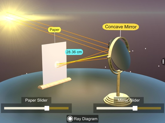 Concave mirror properties screenshot 13
