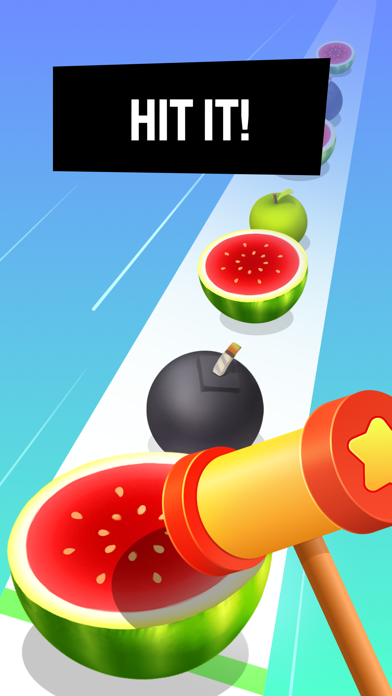 Beat Hammer – Fruits vs. Music screenshot 2