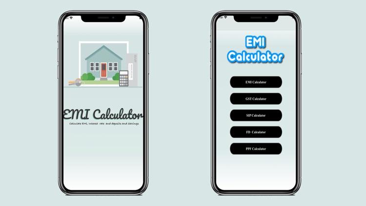 My EMI Calculator