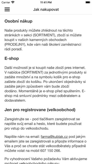 Farma Kublák Fryčovice screenshot 3