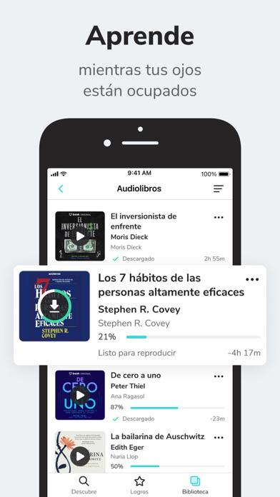 Beek: Audiobooks and Podcasts Screenshot