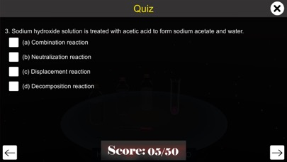 Reaction of Acids with Bases screenshot 7