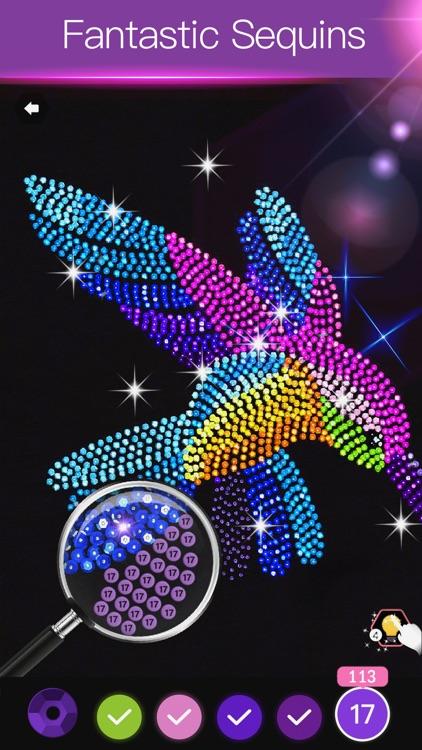 Diamond Painting Art Game screenshot-0