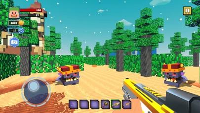 Fire Craft: 3D Pixel World screenshot 2