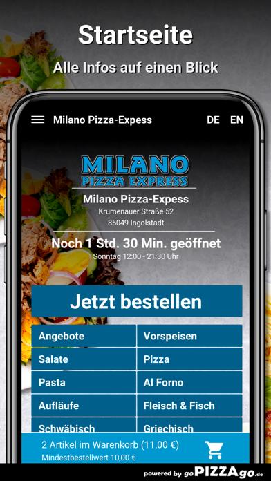 Milano Pizza-Expess Ingolstadt screenshot 2