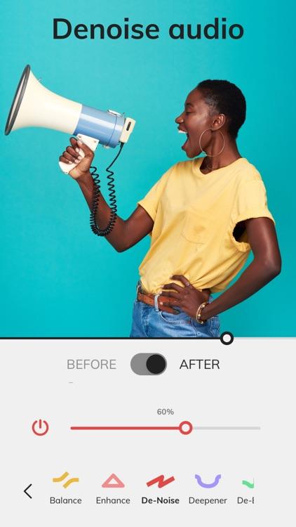 Mauvio: Audio CleanUp & Boost screenshot-0
