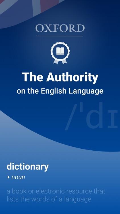Oxford Dictionary of English screenshot-0