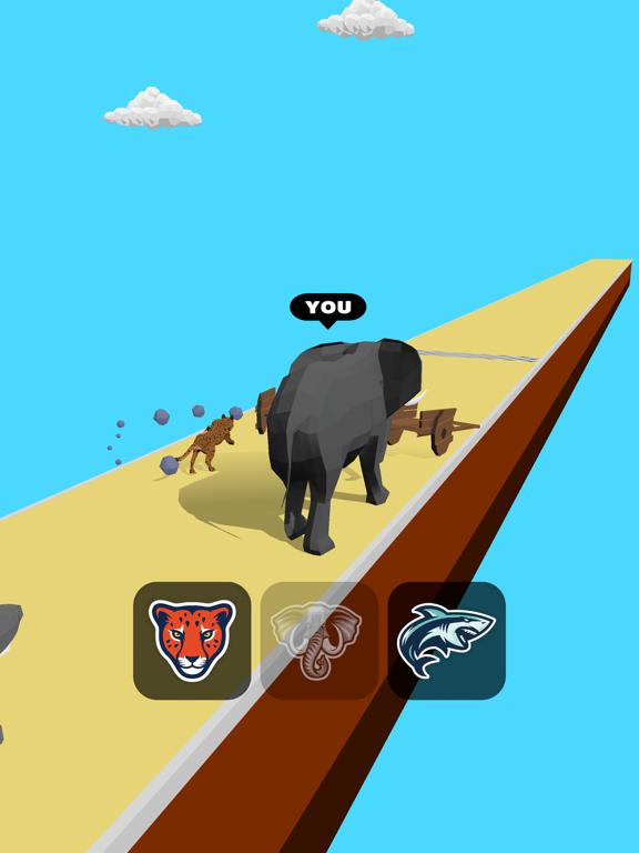 Animal Transform:Epic Race 3D screenshot 11