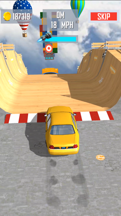 Mega Ramp Car Jumping screenshot 1