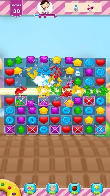 Match 3 : Sugar Matching Games screenshot-3