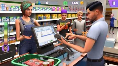 سوبر ماركت التسوق ألعاب 3Dلقطة شاشة4