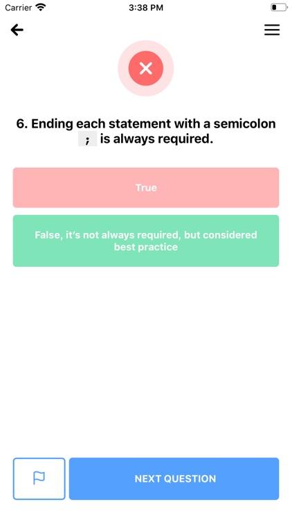 Coding Trivia: Learn to code screenshot-4