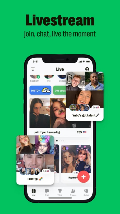 Yubo: Livestream with friends